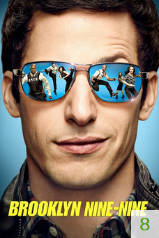Poster for Brooklyn Nine-Nine with a rating of 8.
