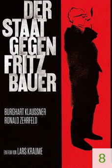 Poster for The People vs. Fritz Bauer with a rating of 8.