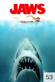 Poster for Jaws with 53 ratings.