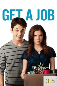 Poster for Get a Job with an average rating of 3.5.