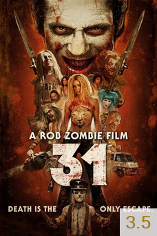 Poster for 31 with an average rating of 3.5.