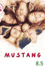 Poster for Mustang with an average rating of 8.5.