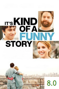 Poster for It's Kind of a Funny Story with an average rating of 8.0.