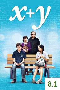 Poster for X+Y with an average rating of 8.1.