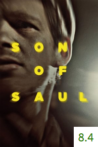 Poster for Son of Saul with an average rating of 7.7.