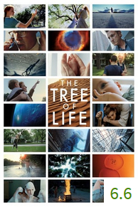 Poster for The Tree of Life with an average rating of 6.6.