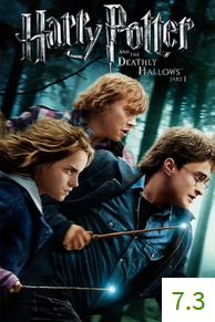 Poster van Harry Potter and the Deathly Hallows Part 1 met een gemiddelde beoordeling van 7.3.