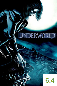 Poster for Underworld with an average rating of 6.4.
